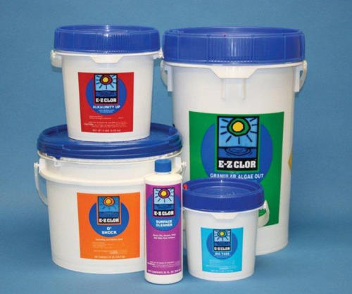E-Z Chlor chemicals